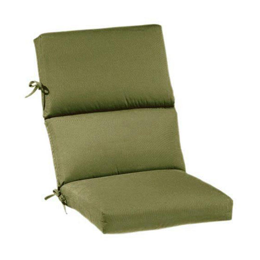 Home Decorators Collection Sunbrella Cilantro Outdoor Dining Chair Cushion