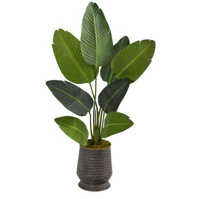 4 2 Artificial Trees Artificial Greenery The Home Depot