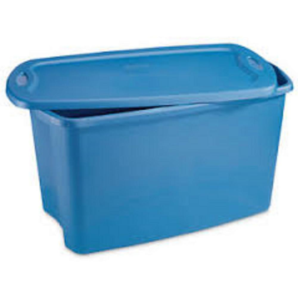 Hdx 30 Gal Storage Tote 2030 0106 The Home Depot
