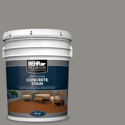 5 Gal. #PFC-69 Fresh Cement Solid Color Flat Interior/Exterior Concrete Stain