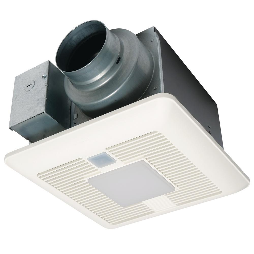 Panasonic WhisperSense DC FanLED Lights Motion And Humidity Sensors - Panasonic humidity sensing bathroom exhaust fans