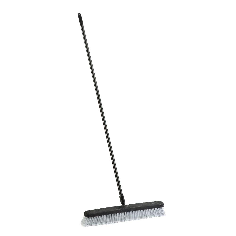 Laitner Brush 24 in. Indoor Smooth Surface Push Broom