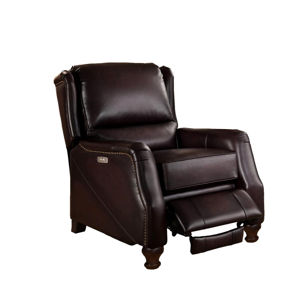 Hydeline Brown Davis Power Recliner