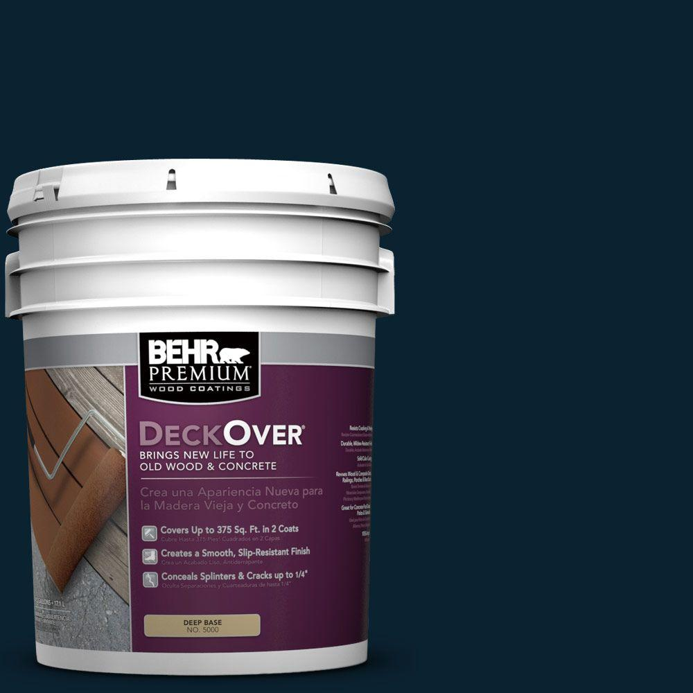 BEHR Premium DeckOver 5 gal. #SC-101 Atlantic Wood and Concrete Coating
