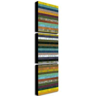 Wooden Abstract XI by Michelle Calkins 3-Panel Wall Art Set