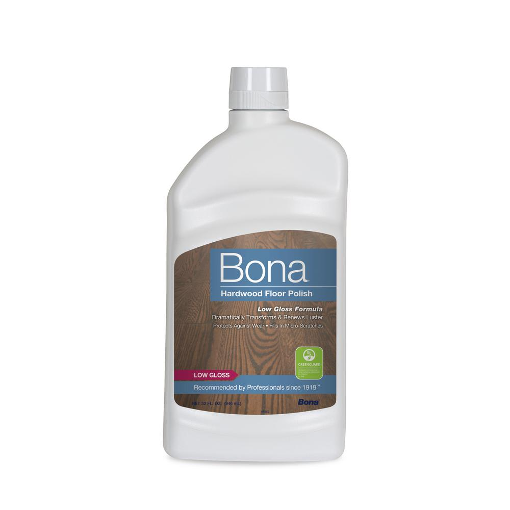 Bona 32 Oz Low Gloss Hardwood Floor Polish Wp500351001 The Home Depot
