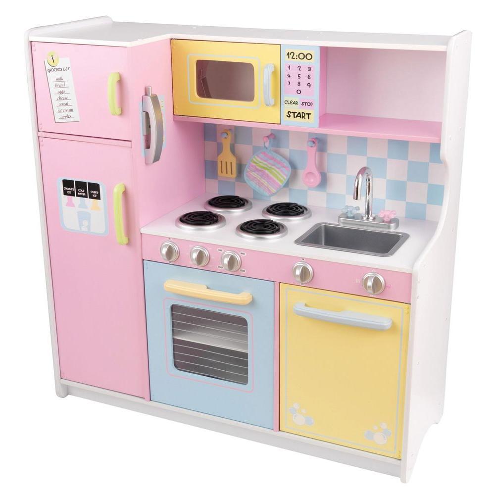 Large Pastel Kitchen Playset