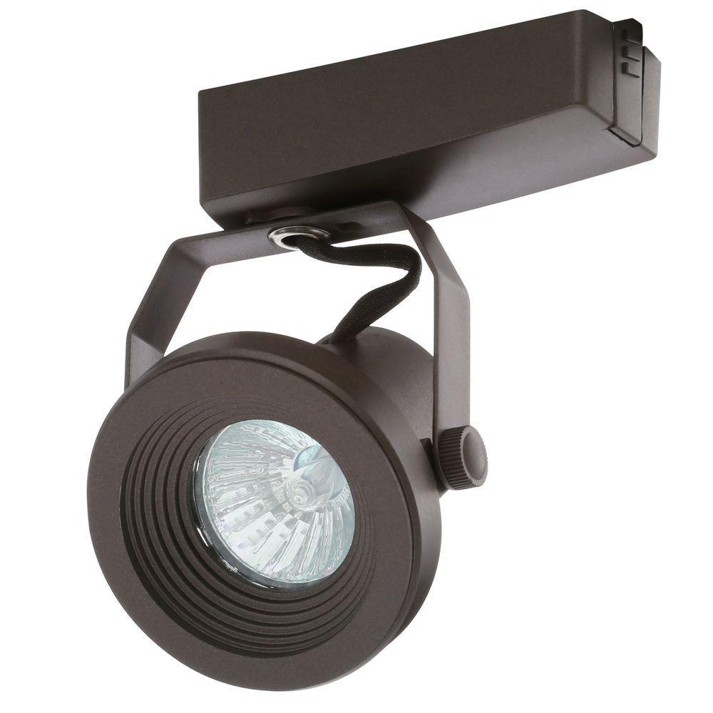 Trac-Lites Low-Voltage Bronze Funnel Light