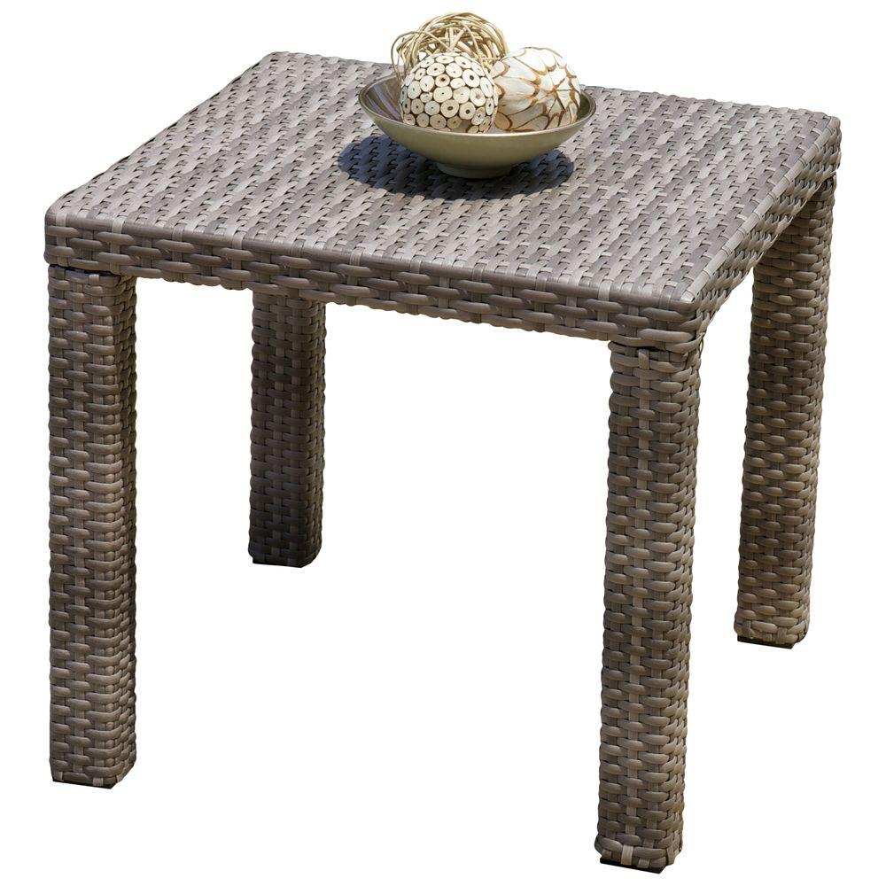 RST Brands Cannes 20 in. Patio Side Table