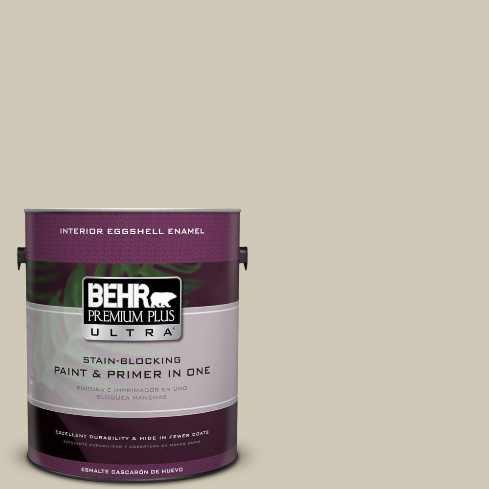 BEHR Premium Plus Ultra 1-gal. #N330-3 Unmarked Trail Eggshell Enamel Interior Paint