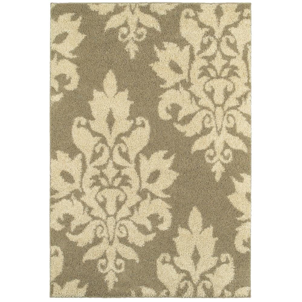 Home Decorators Collection Meadow Damask Neutral 10 ft. x 12 ft. Area Rug