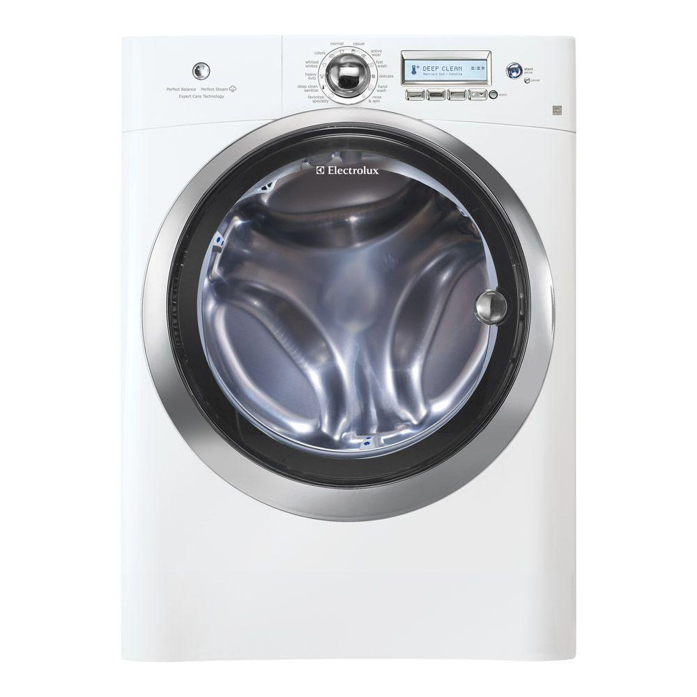 Electrolux Wave-Touch 4.4 cu. ft. High-Efficiency Front Load Washer with Steam in Island White, ENERGY STAR