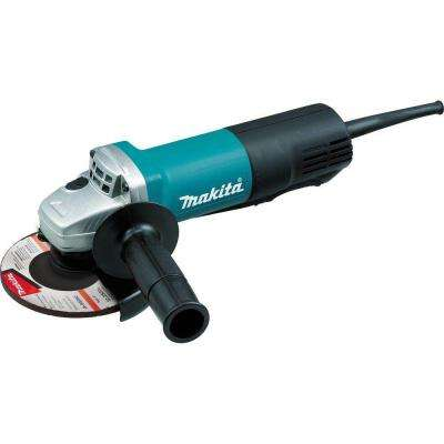 7.5 Amp Corded 5 in. Paddle Switch Angle Grinder with AC/DC Switch, 10,000 RPM