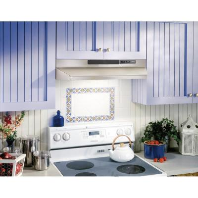 F40000 Series 30 in. Convertible Under Cabinet Range Hood with Light in Stainless Steel