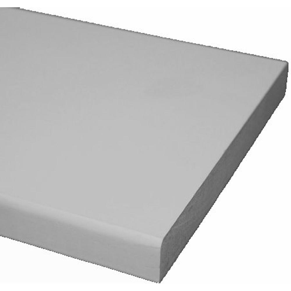 null Primed MDF Board (Common: 11/16 in. x 1-1/2 in. x 10 ft.; Actual: 0.669 in. x 1.5 in. x 120 in.)