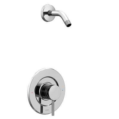 Align Single-Handle Posi-Temp Tub and Shower Faucet Trim Kit in Chrome (Showerhead and Valve Not Included)