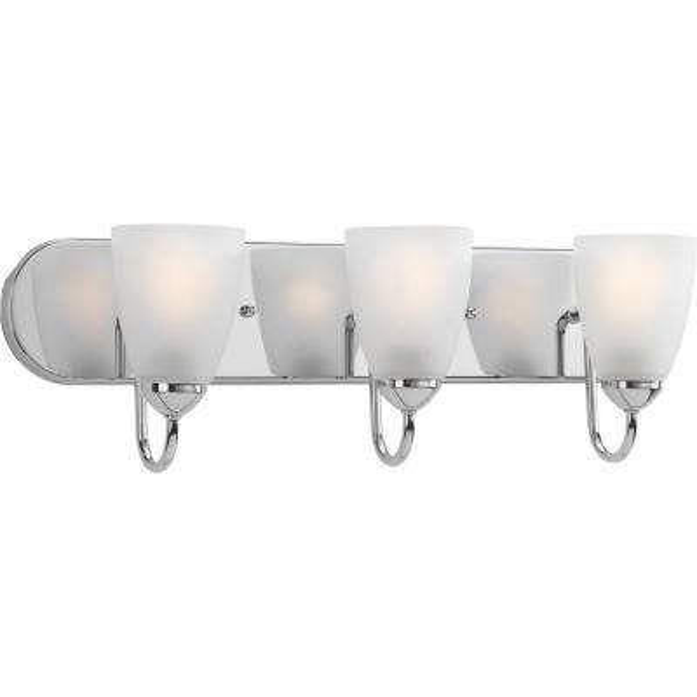 Gather Collection 3-Light Polished Chrome Bath Light