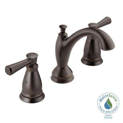 Linden 8 in. Widespread 2-Handle Bathroom Faucet in Venetian Bronze