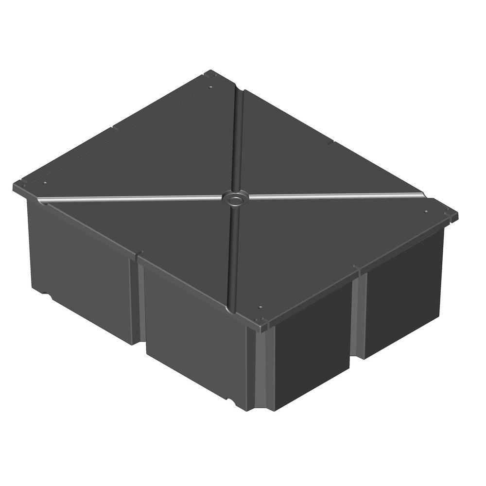 PermaFloat 48 in. x 60 in. x 12 in. Dock System Float Drum