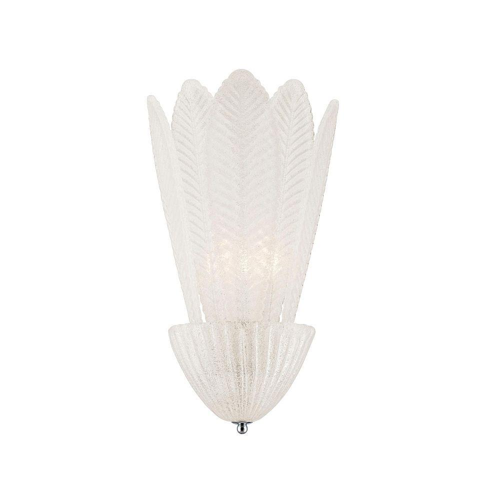 Pratolina Collection 2-Light Clear Wall Sconce-DISCONTINUED
