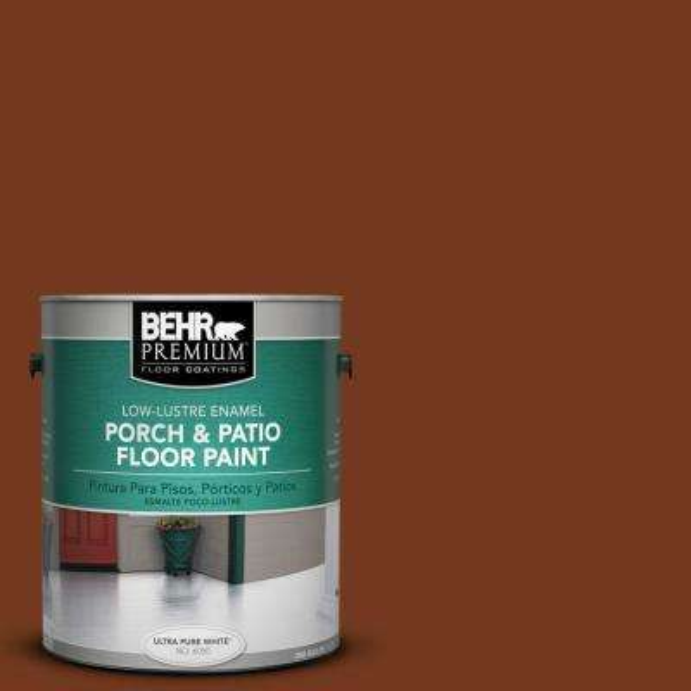 1 gal. #SC-116 Woodbridge Low-Lustre Interior/Exterior Porch and Patio Floor Paint