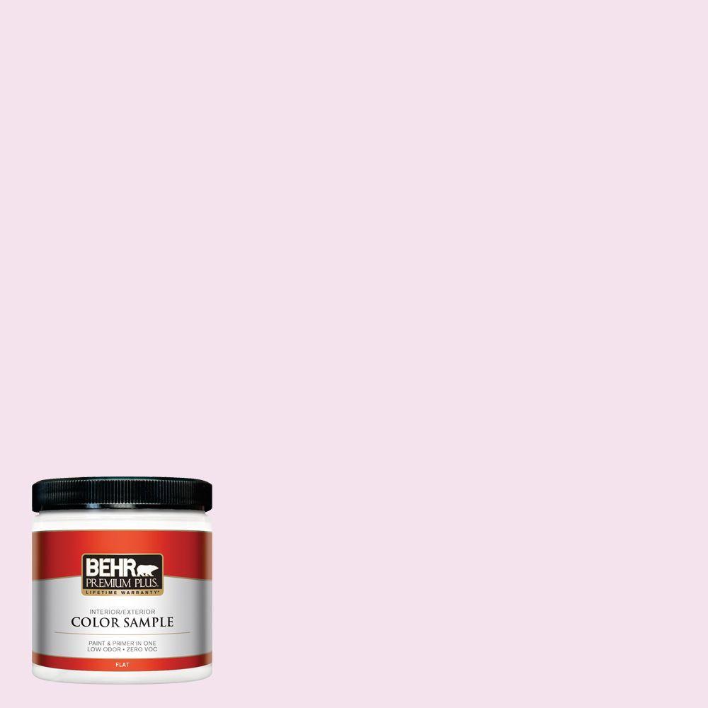 BEHR Premium Plus 8 oz. #690C-2 Pink Amour Interior/Exterior Paint Sample