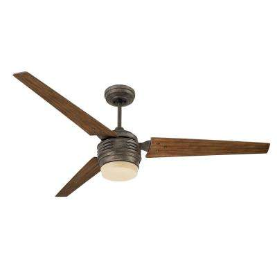 4th Avenue 60 in. Vintage Steel Ceiling Fan