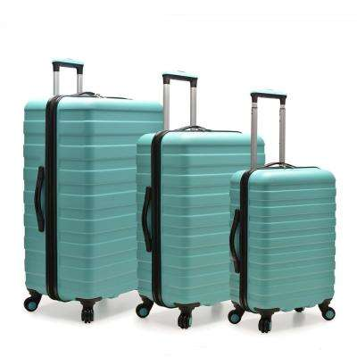 Cypress Colorful 3-Piece Mint Hardside Spinner Luggage Set