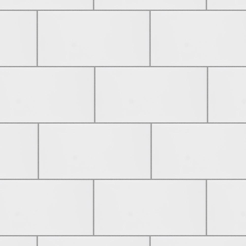 Merola Tile Projectos Urban Glossy White 3-7/8 in. x 7-3/4 in. Ceramic Wall Tile (11.47 sq. ft./Case)