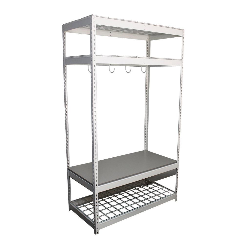H Adjustable 4  sc 1 st  The Home Depot & SafeRacks - Sports u0026 Bike Racks - Garage Shelves u0026 Racks - The Home ...