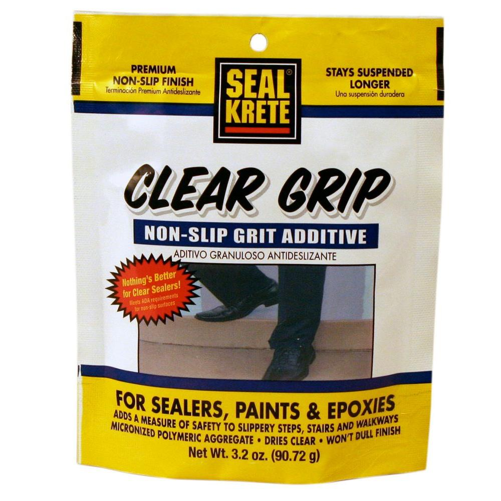 Seal Krete 3 2 Oz Clear Grip Anti Skid Additive 402002