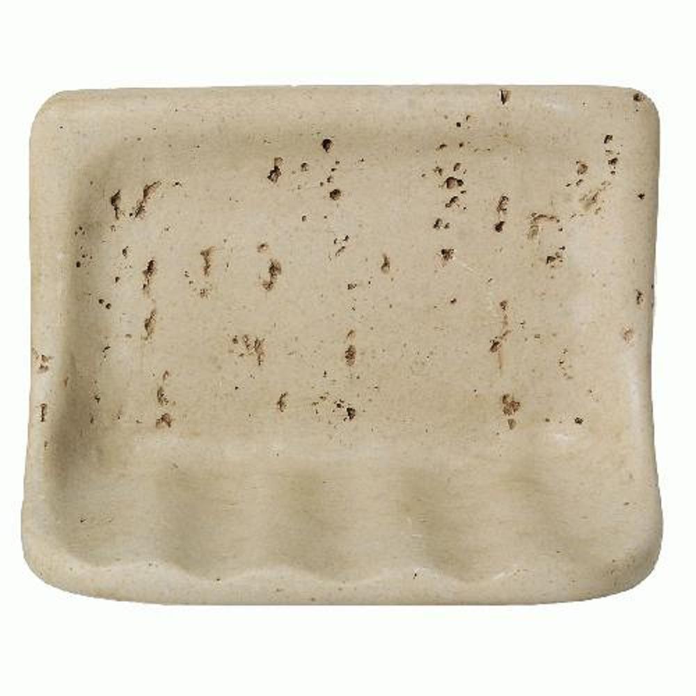 Bath Accessories 4-5/16 in. x 6-5/16 in. Resin Soap Dish