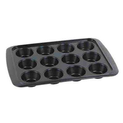Bakers Wave 12-Cup Steel Muffin Pan