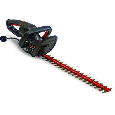 Blaze 24 in. 5 Amp Dual-Action Electric Hedge Trimmer with 180 Degree Rotating Handle