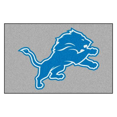 NFL 30 in. x 19 in. Detroit Lions Rug