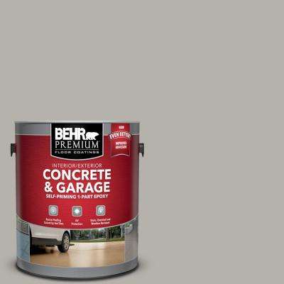 1 gal. #PFC-67 Mossy Gray Self-Priming 1-Part Epoxy Satin Interior/Exterior Concrete and Garage Floor Paint