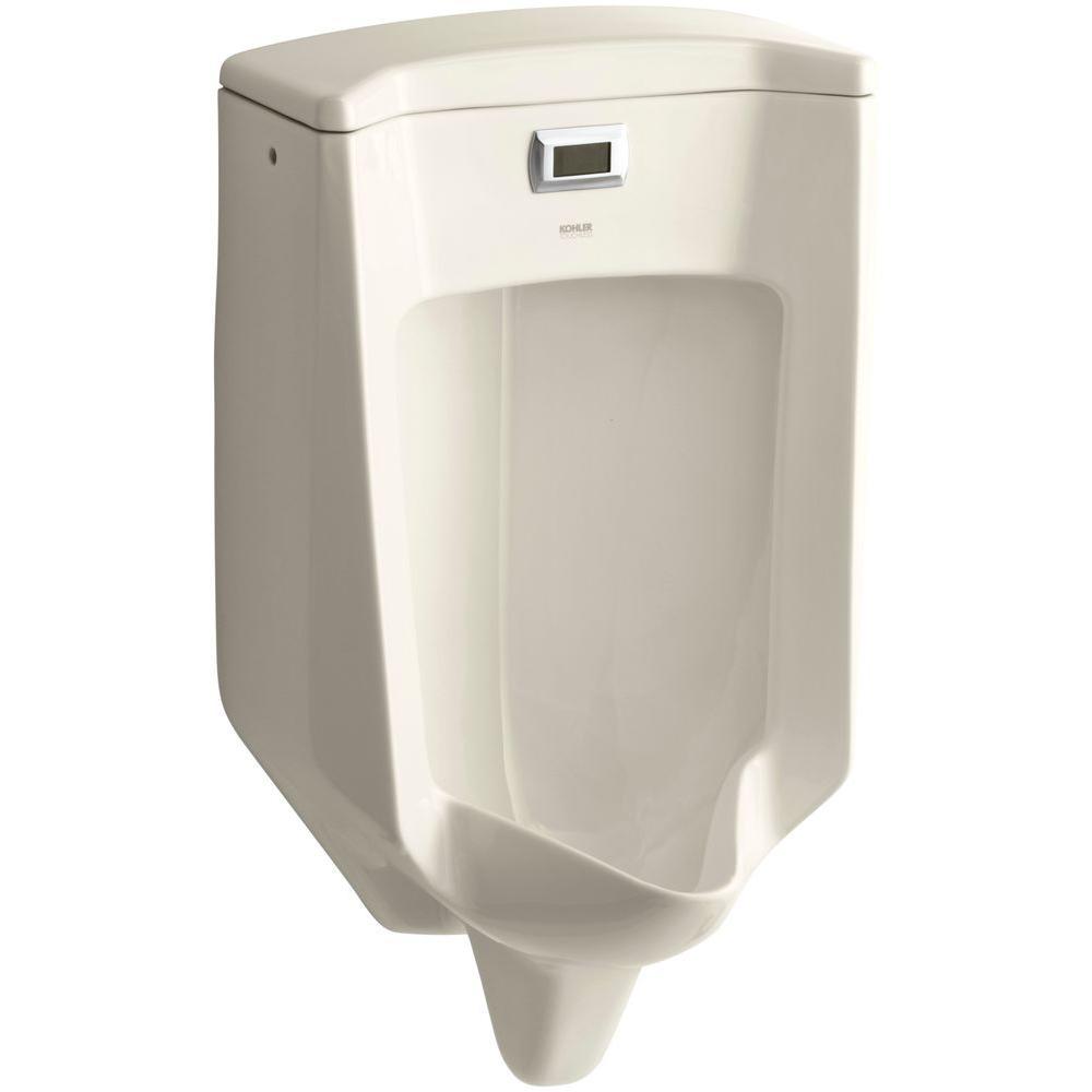 KOHLER Bardon 0.5 GPF Touchless Urinal in Almond