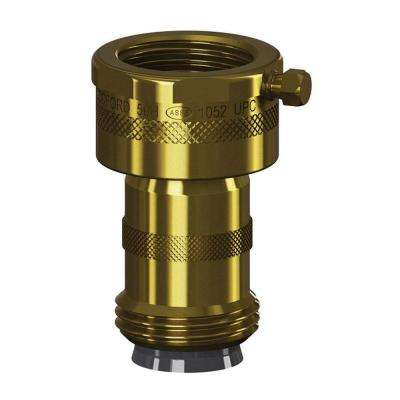 Add-On 3/4 in. Hose Thread Brass Double-Check Backflow Preventer