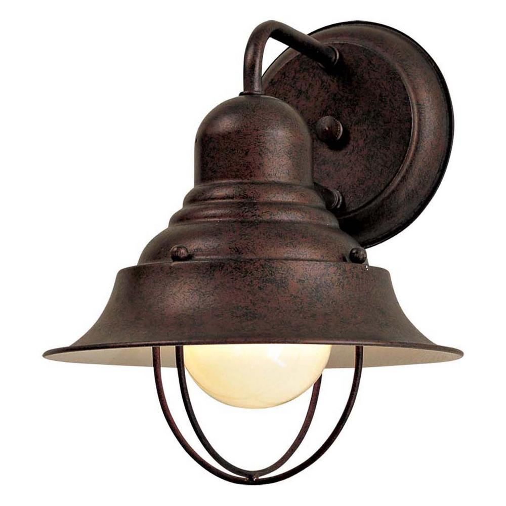 The Great Outdoors By Minka Lavery Wyndmere 1 Light Antique Bronze Outdoor Wall Lantern Sconce