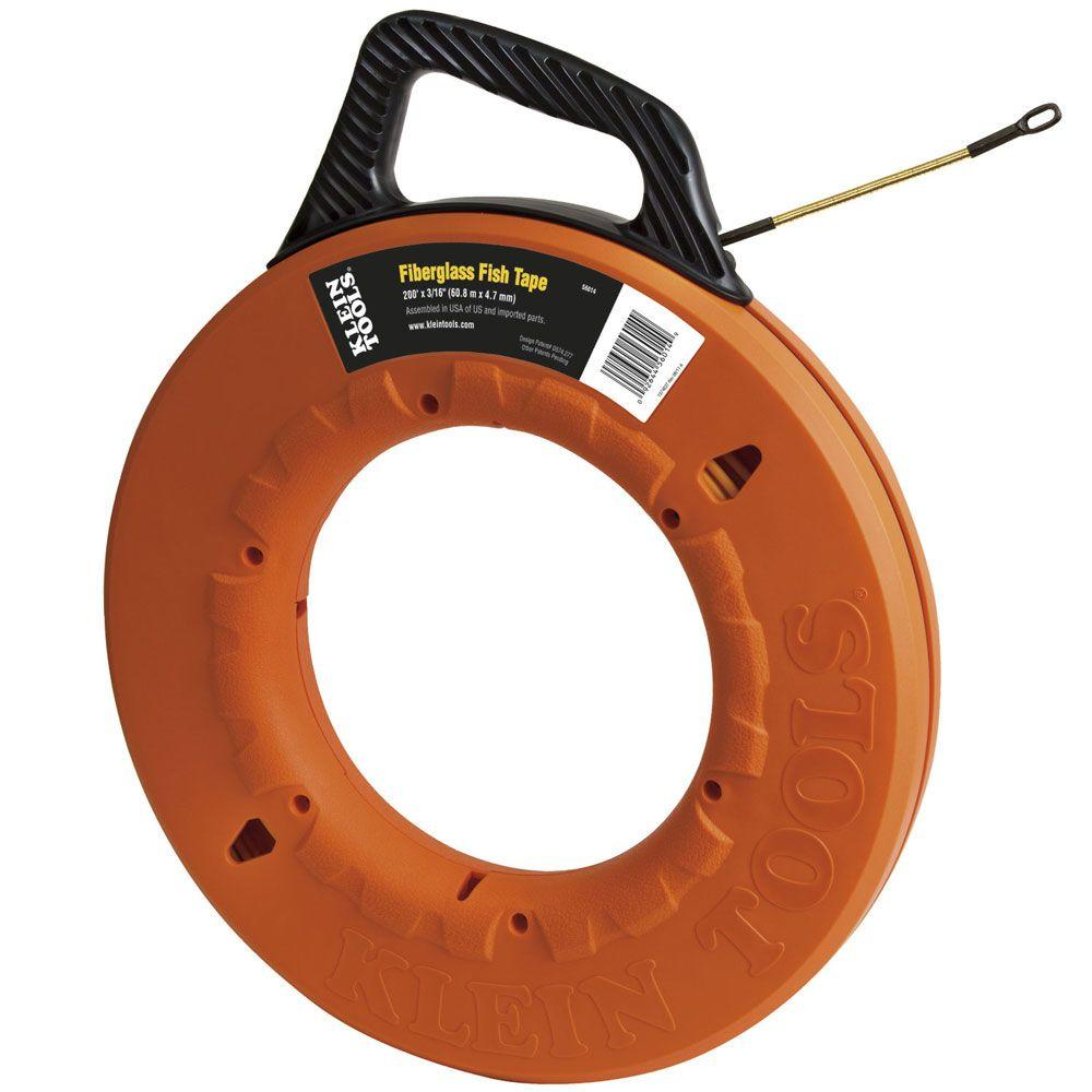 Klein Tools 200 ft. Fiberglass Fish Tape
