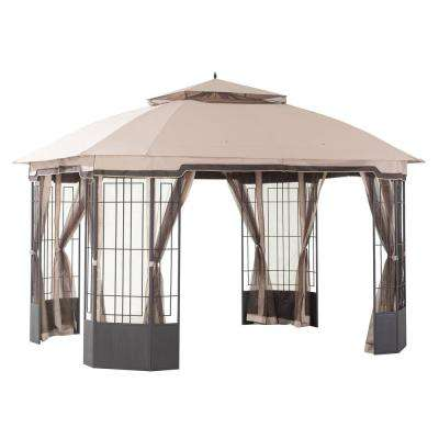 10x12 Gazebos Shade Structures The Home Depot
