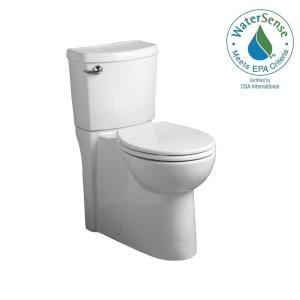 American Standard Cadet 3 FloWise 2-Piece 1.28 GPF Single Flush Right Height Round Front Toilet with Concealed Trapway... by American Standard