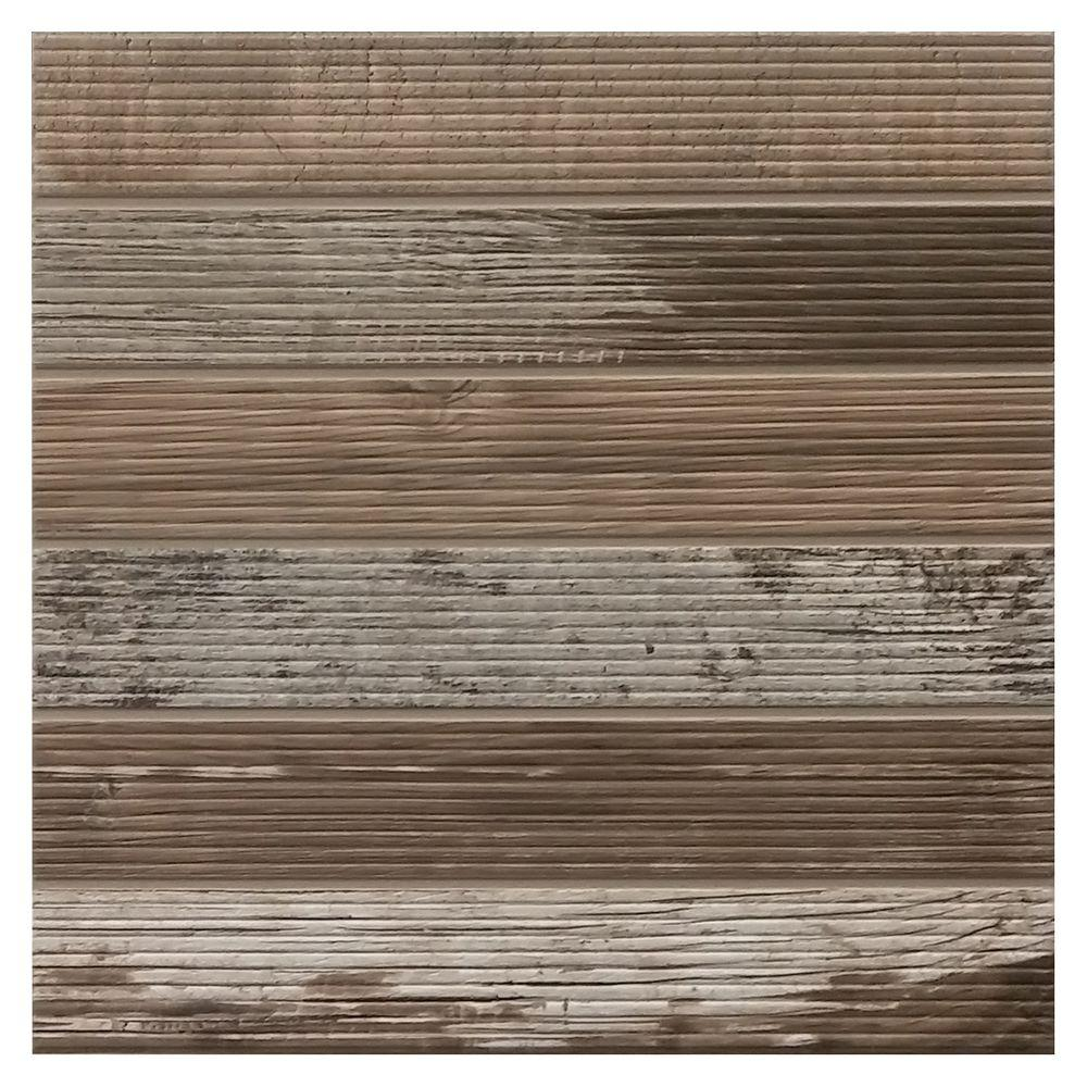 Daltile Modern Outdoor Living Weathered Wood 18 in. x 18 ...