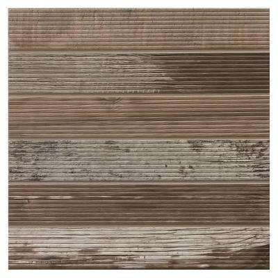 Modern Outdoor Living Weathered Wood 18 in. x 18 in. Glazed Porcelain Floor and Wall Tile (352.03 sq. ft. / pallet)