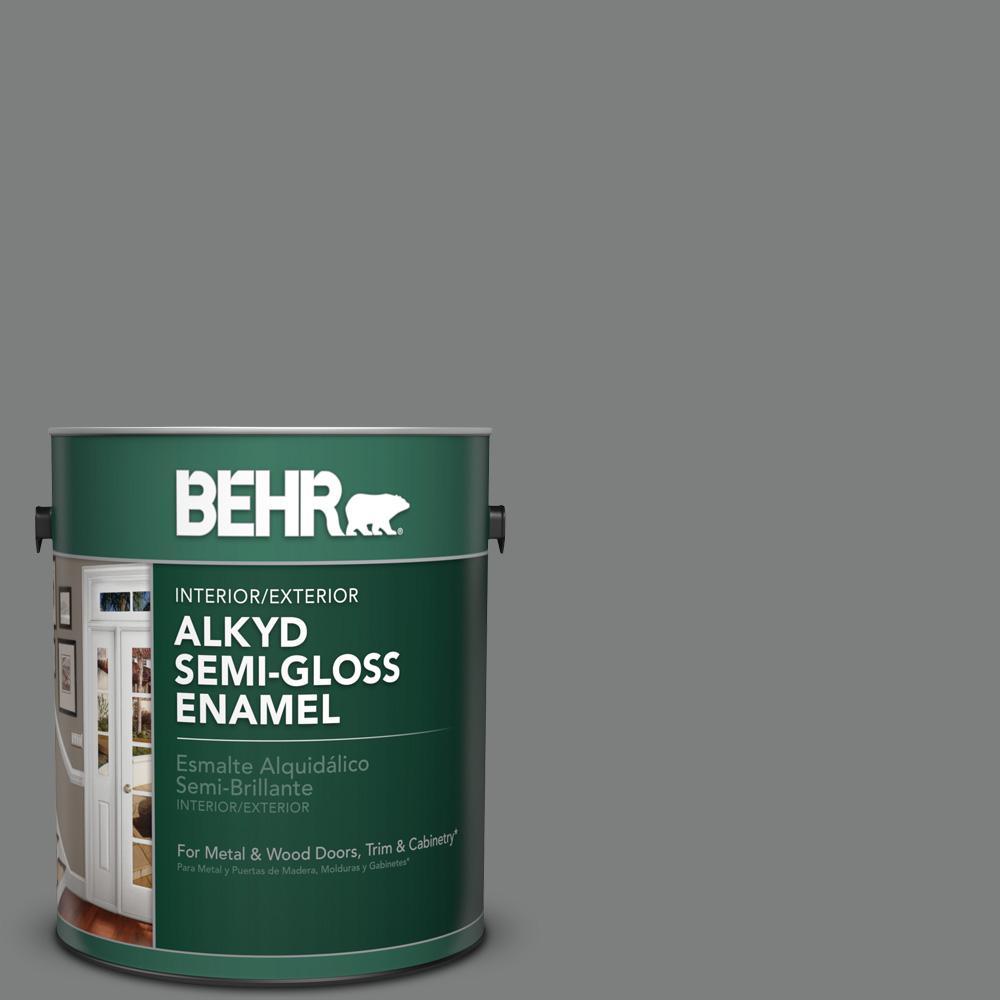 6795 Slate Gray Semi Gloss Enamel Alkyd Interior Exterior