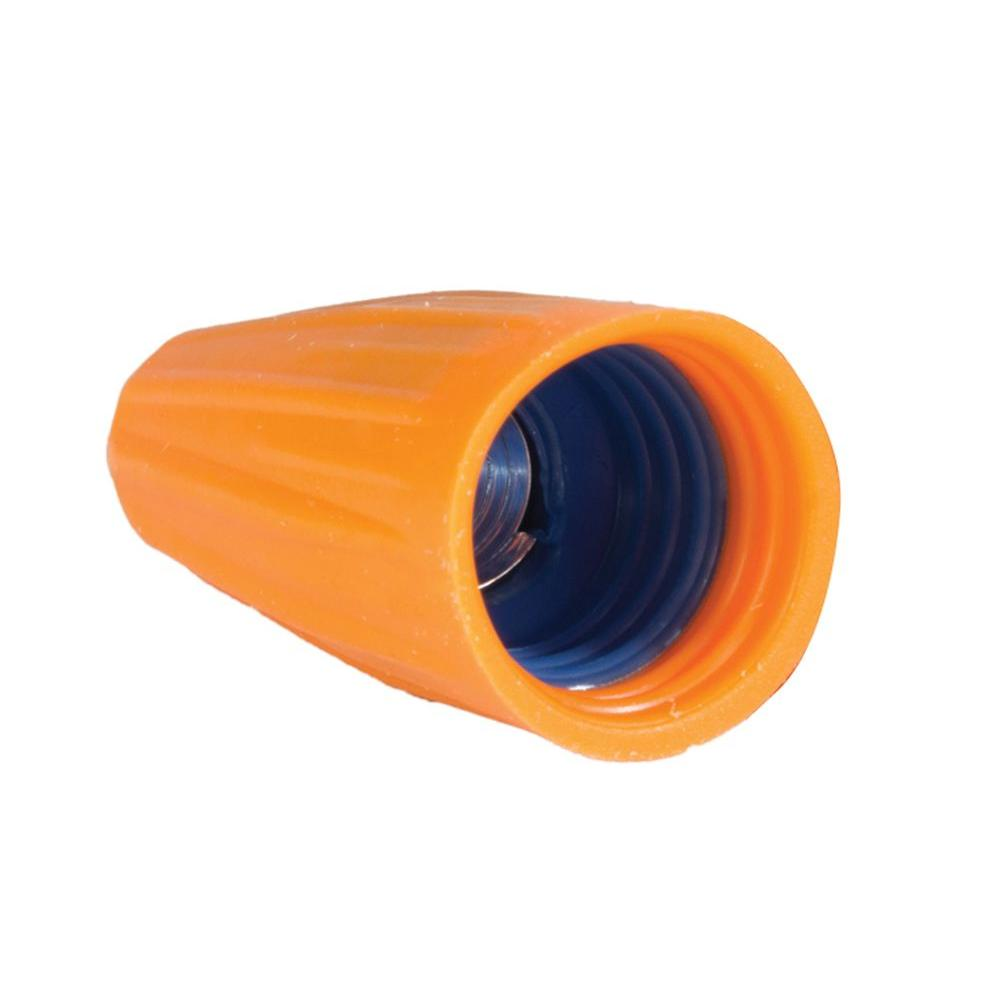 Orange and Blue Cushion Grip Wire Connectors (300-Pack)