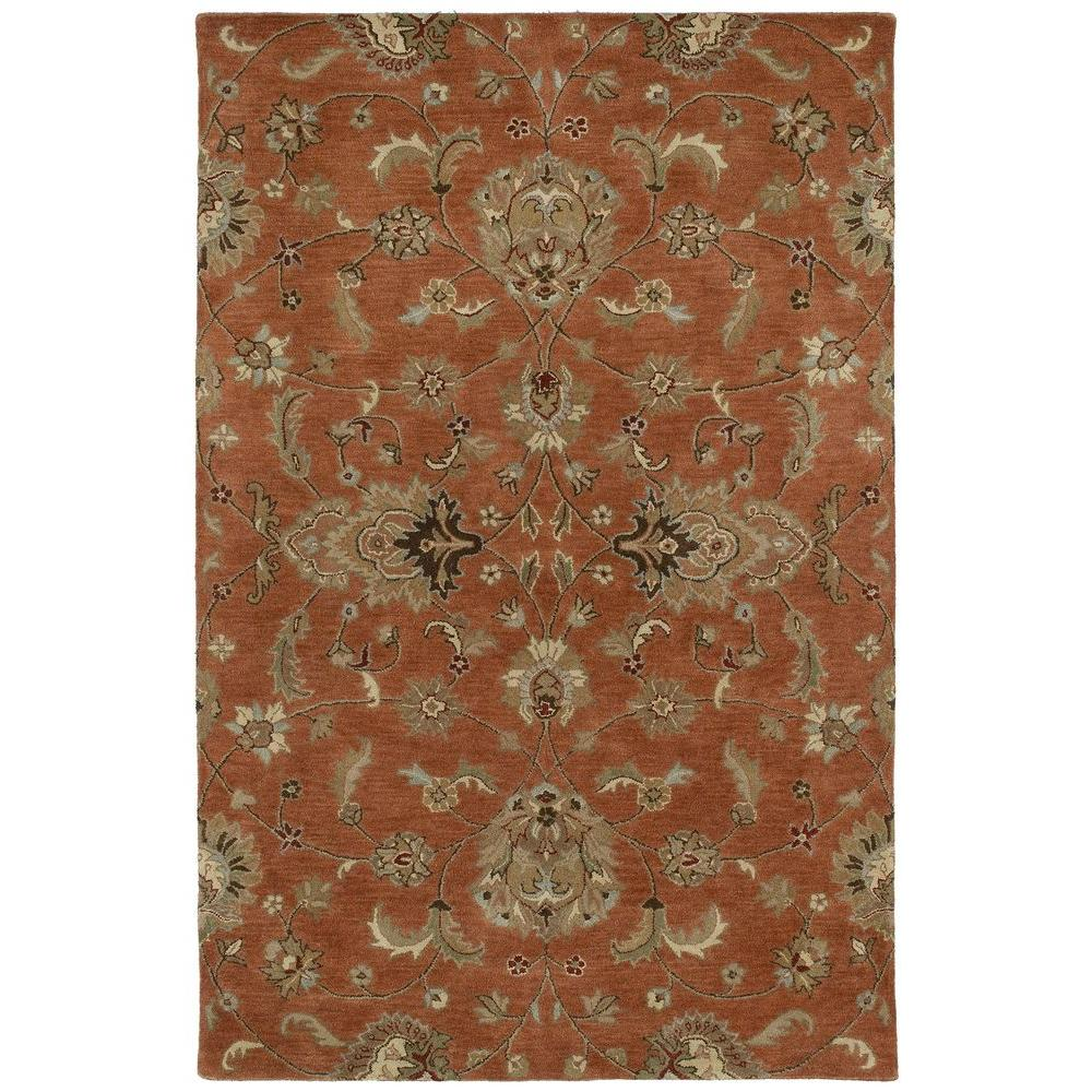 Kaleen Mystic Europa Copper 2 ft. x 3 ft. Area Rug