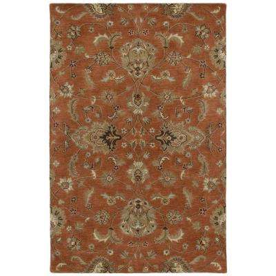 Mystic Europa Copper 5 ft. x 8 ft. Area Rug