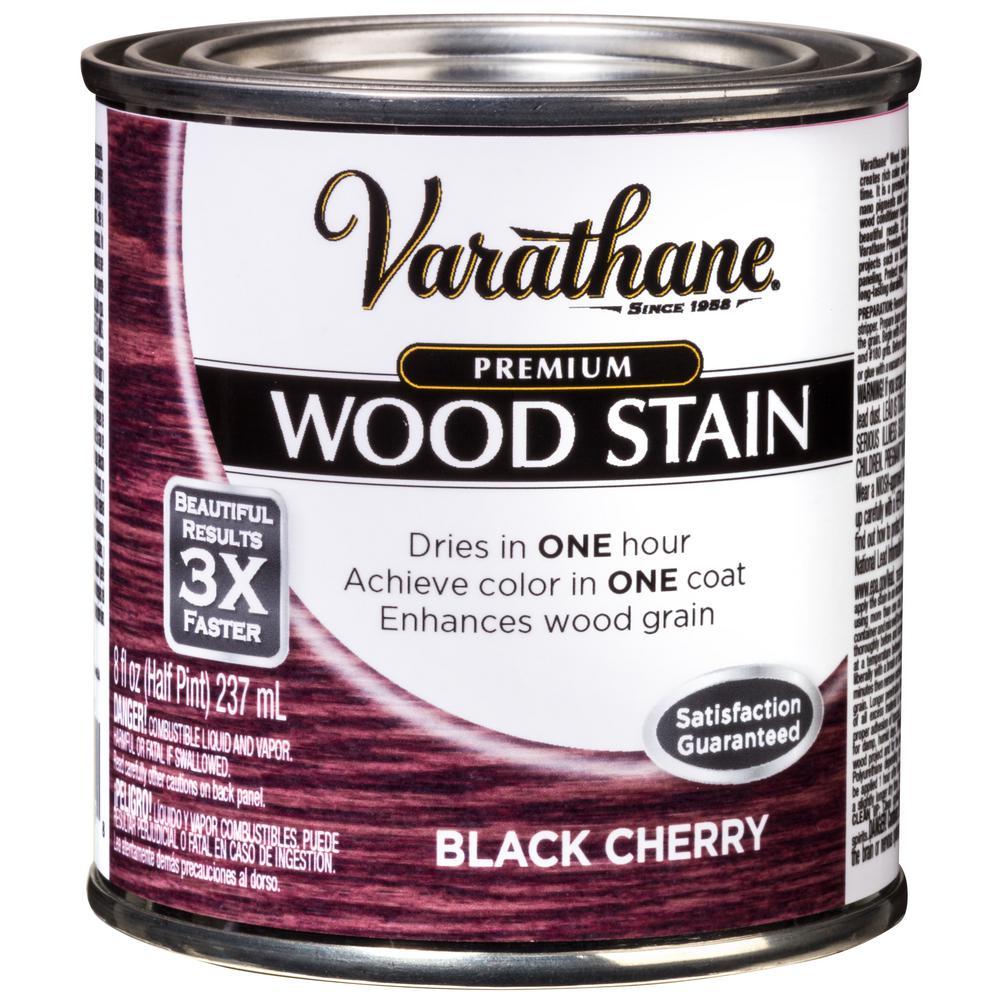 8 oz. Black Cherry Premium Fast Dry Interior Wood Stain