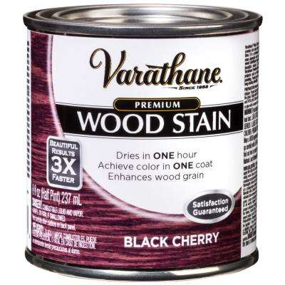 8 oz. Black Cherry Premium Fast Dry Interior Wood Stain